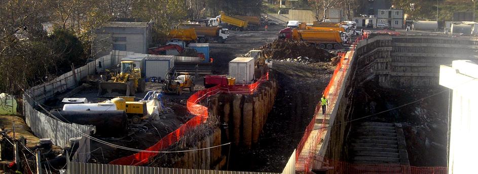 Akasya Konutları-Metro Bağlantısı Yaya Geçiş Tüneli  / İstanbul
